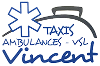 Logo AMBULANCES TAXIS VINCENT